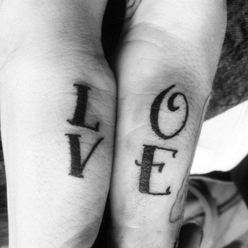 couple tattoos quotes - Google Search