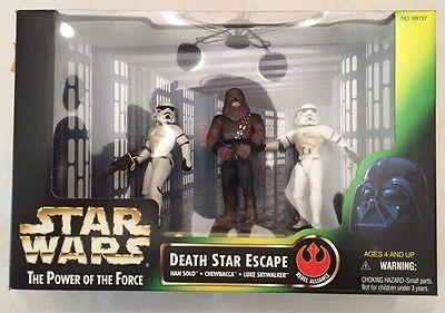 MINT IN BOX Star Wars DEATH STAR ESCAPE LUKE SKYWALKER HAN SOLO CHEWBACCA  | eBay