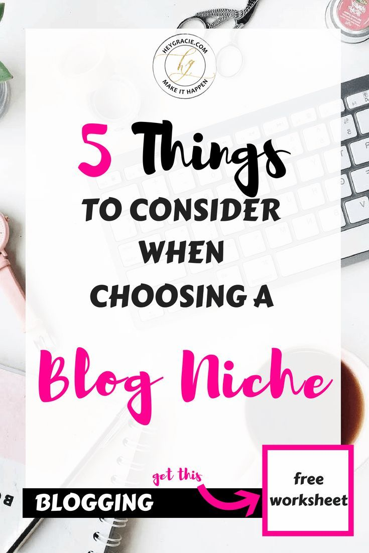 How To Choose The Perfect Blog Niche Beginners Guide Blog How