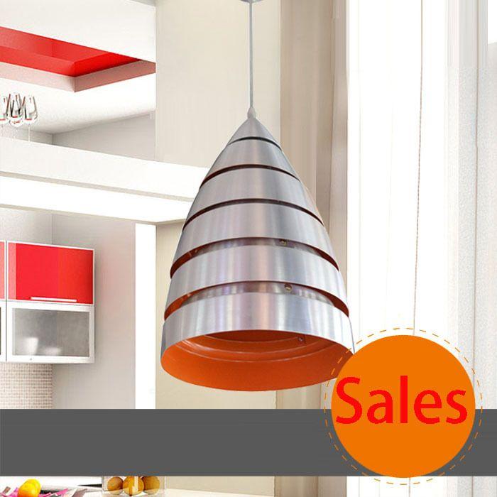 Серебряный алюминиевый подвесной светильник современный контракт столовая подвесной светильник бесплатная доставка полированный хром кухня подвеска лампа