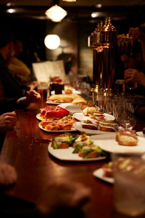 Popping into pintxo bars—the Basque version of tapas bars—is a local pastime in…