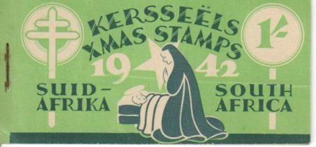 UNION SA 1942 1S CHRISTMAS BOOKLET COMPLETE