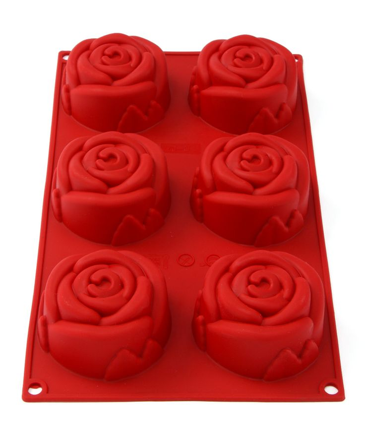 Rose Silicone Mold @Pascale Lemay Lemay Lemay De Groof