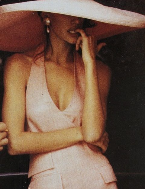 Susan Holmes by Ellen von Unwerth for Vogue UK, March 1991