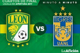 León vs Tigres; Liga MX en vivo (0-0) MINUTO A MINUTO - Milenio.com