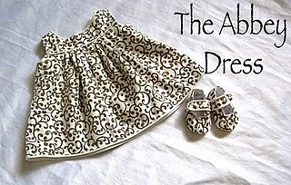 Baby dress and shoes tutorial