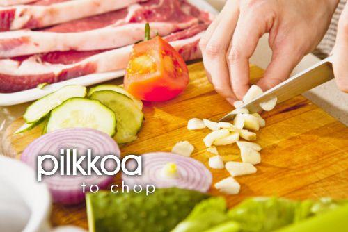 pilkkoa ~ to chop