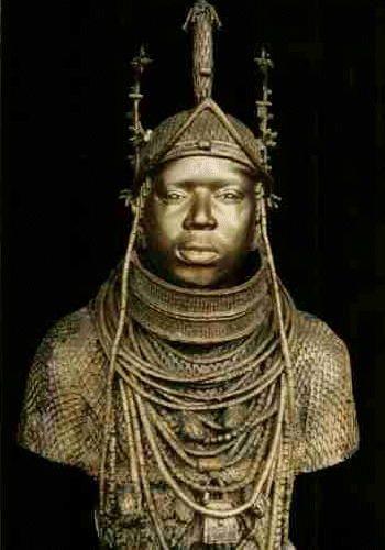 Oba-Esigie-of-Benin-Kingdom Bronze -1504-1550 CE