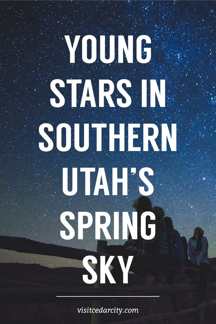 """With Cedar Breaks National Monument newly minted International Dark Sky park status, residents of Southwestern Utah may want to check out what we can see in Southern Utah's spring sky. "" #DarkSky #CedarBreaks #NPS101"