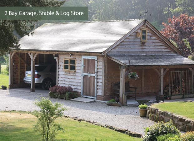 Bespoke Garages/Outbuildings | Cheshire Oak Structures