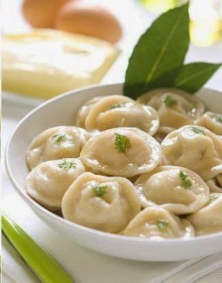 Pelmeni - The Russian food you simply must try. http://foodmenuideas.blogspot.com/2014/10/borshch-or-blintz-russian-foods-you.html