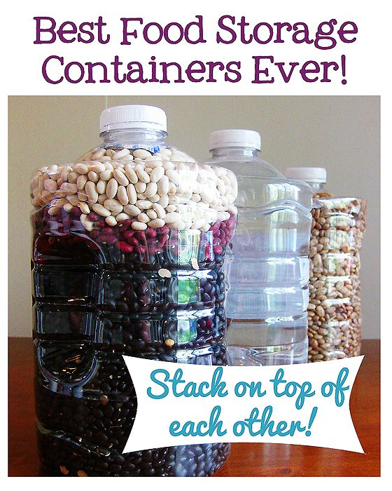 20 Foods that must be re packaged for long term storage and how to