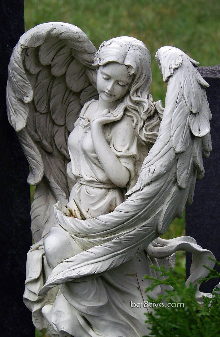 I saw the angel in the marble and carved until I set him free. ~ Michelangelo  What a beautiful statue.