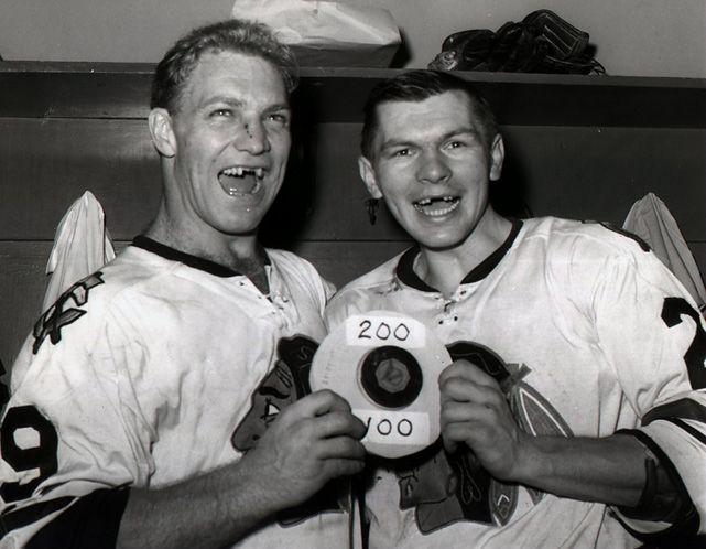 Bobby Hull and Stan Mikita, Chicago Blackhawks