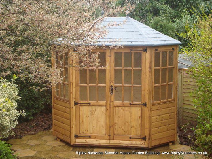 frensham double door gazebo summerhouse 8x6 with double doors garden buildingsdouble - Garden Sheds Ripley