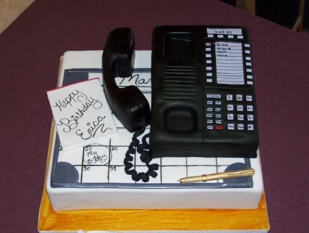 Telephone Cake