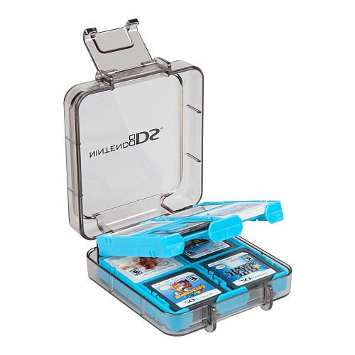 Universal 16 Game Storage Case for Nintendo DS blue