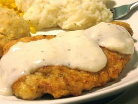 Delectameals: Easy Chicken Fried Chicken with Country Gravy: Budget Dinner