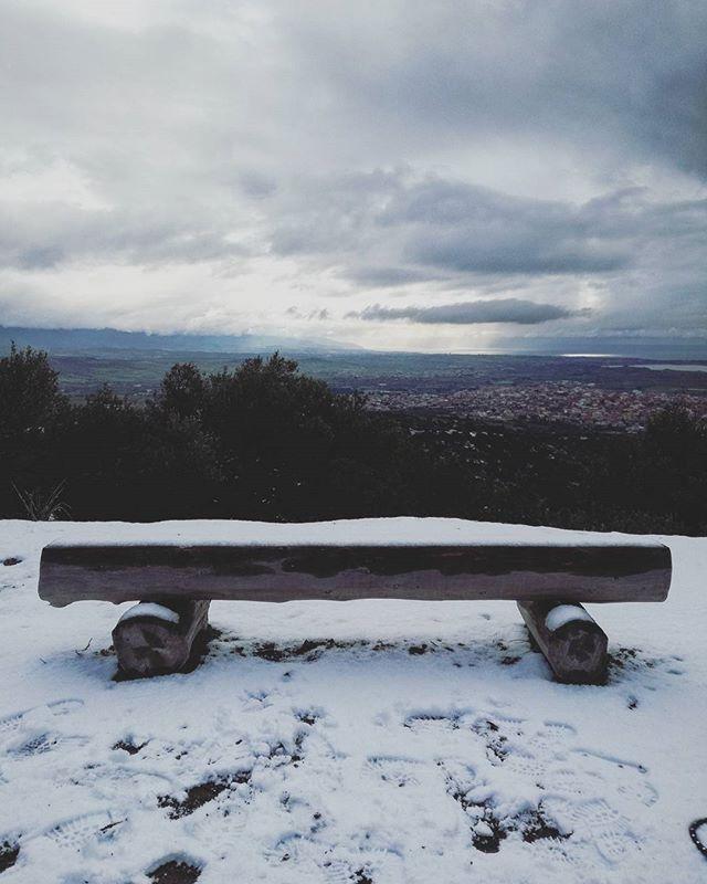🌲#snow #snowing #sardinia #pinetadisinnai #tree #motherearth #mothernature #picoftheday #photoftheday #beauty #beautifultime #lovenature #lovesardegna #sardegnagram #lovetrees #green #peace #peaceful #winterinsardinia #winter #nature #moodoftheday #mood #goodmorning #goodvibes #instanature #instalike #love #beauty  #landscapes #sardegna