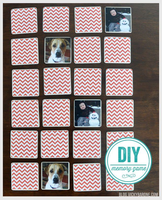 This week we made our very own memory game using family pictures! Pinhole Press makes a beautiful set of customized memory game pieces that make for a great gift! This, of course, inspired us to ma...