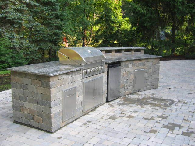 Do it yourself outdoor kitchen outdoor kitchens built in grills