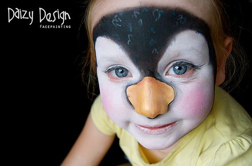 Face Painting - Penguin | Daizy Design Face Painting, www.da… | Flickr
