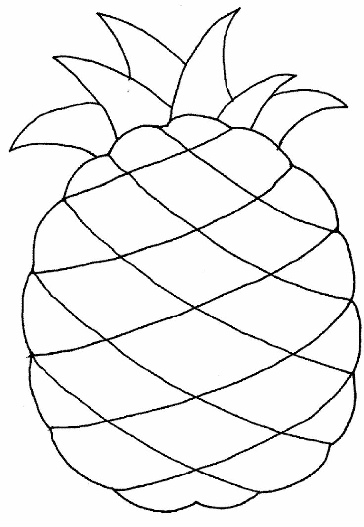 kids coloring pages free fruit - photo#34
