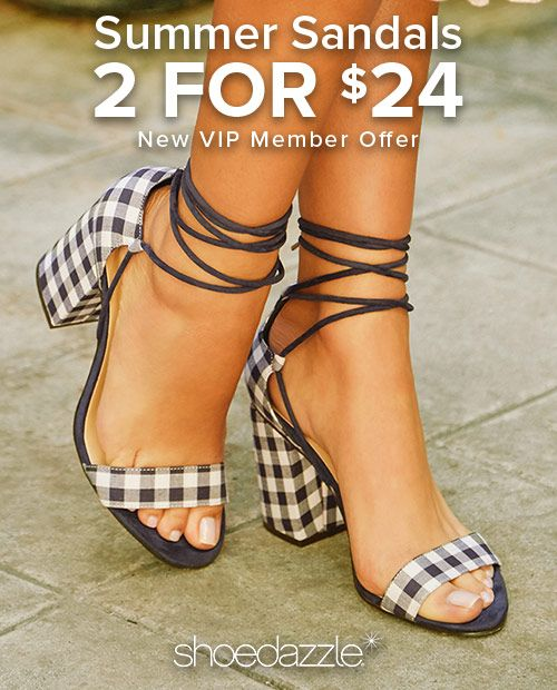 "Spring Styles are In - Get Your First 2 Styles for Only $24! Make sure you're up to date on the hottest new trends by signing up as a Shoedazzle VIP. You'll enjoy a new boutique of personalized styles each month, as well as exclusive pricing, early access to sales & free shipping on orders over $39. Don't think you'll need something new every month? No problem - click ""Skip The Month"" in your account by the 5th and you won't be charged. Take the Style Quiz today to get this exclusive offer."