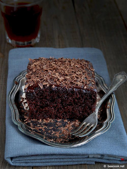 Новозеландский шоколадный пирог