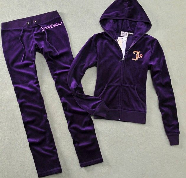 Juicy Couture Velvet Track Suit