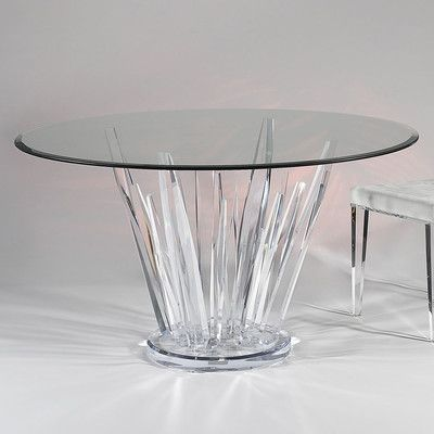 Best Dining Tables Images On Pinterest Acrylic Furniture - Acrylic dining table