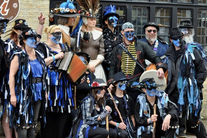 Oliver Cromwell tried to ban Morris Dancing.  He's gone, morris dancing is still here!