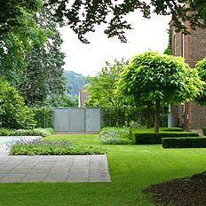 25 beste idee n over modern tuinontwerp op pinterest - Eigentijdse landscaping ...