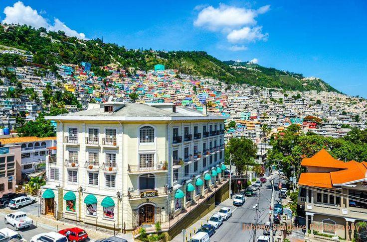 Petion-Ville in Port-au-Prince, Haïti