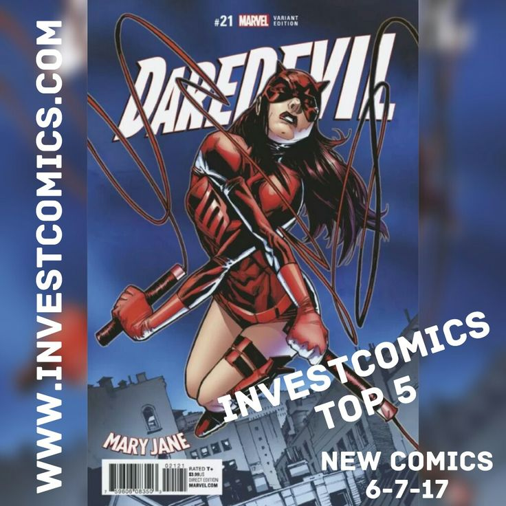 Check out the Top 5 at www.investcomics.com now. #InvestComics #ncbd #newcomics #newreleases #newcomicswednesday #superman #batman #daredevil #ironfist #darkknight #spawn #doctorstrange #DarthVader #StarWars #MaryJane #marketing #socialmedia #marketinglife #marketingdigital #socialmediamarketing #socialmediastrategy #comicbooks #comics #marvel  #dccomics #online #onlineshopping #onlinebusiness #entrepreneur