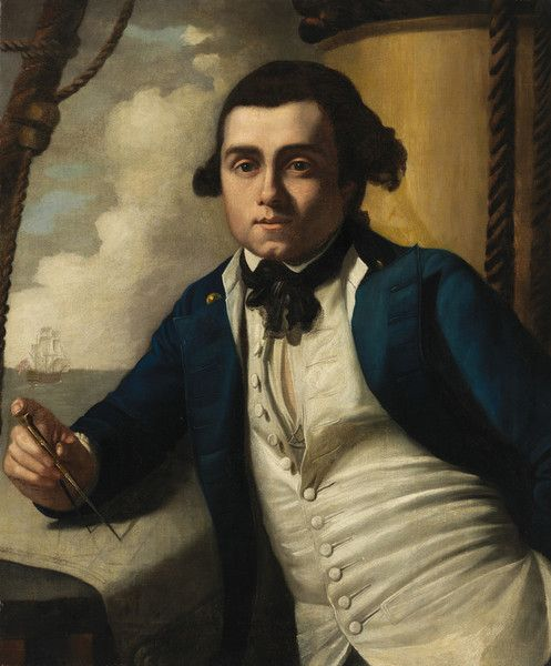 William Bligh by John Webber from National Portrait Gallery, Canberra