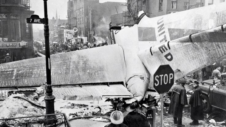 Park Slope plane crash: On 12/16/1960, a United Airlines plane, heading to Idlewild Airport, crashed into a TWA plane, which was heading for LaGuardia Airport. All passengers and crew, on both planes, perished along with 6 people on the ground. One young boy lived till the following day.