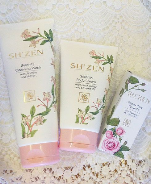The beautifully gentle fragranced body range especially great idea for christmas gifts