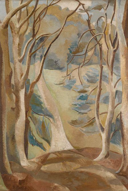 """Path"" by Paul Nash, 1922"