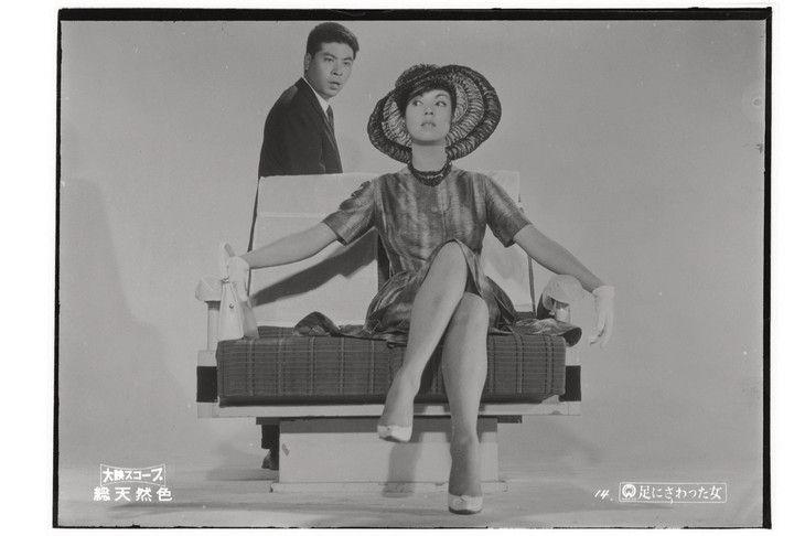 「足にさわった女」 (c)KADOKAWA 1960