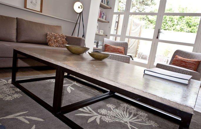 Décoration de table : décor de maison, béton, déco d'intérieur, style cosy
