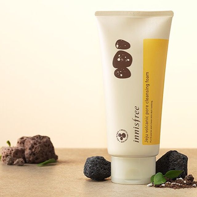 Innisfree Jeju Volcanic Pore Cleansing Foam - STYLE STORY