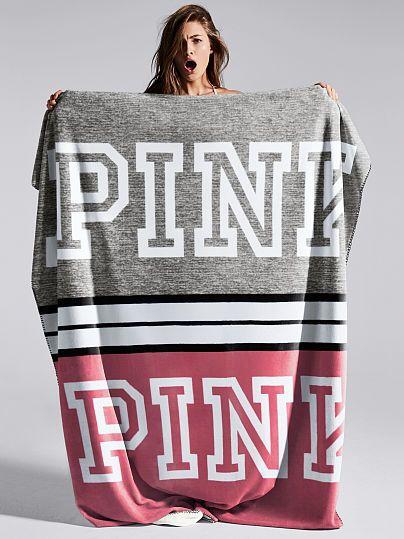 Soft Sherpa Blanket PINK