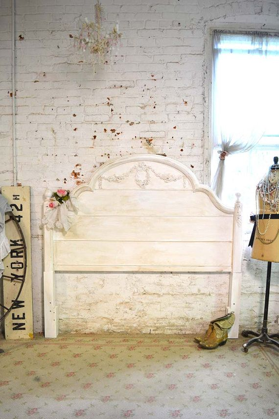 Hey, I found this really awesome Etsy listing at https://www.etsy.com/listing/238311868/french-headboard-painted-cottage