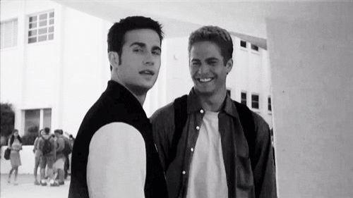 Freddie Prinze, Jr. and Paul Walker