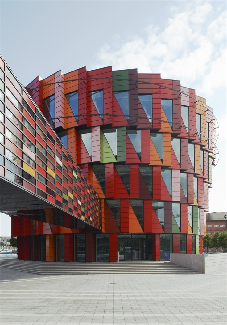 Kuggen (Swedish for 'the cog') is a building owned by real estate company Chalmersfastigheter for Chalmers University of Technology in Gothenburg, Sweden, designed by Wingårdh Arkitektkontor.
