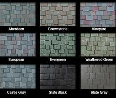 Slate Roof Tiles | Plastic Roof Tiles, Plastic Roofing Shingles, Hurricane Proof Tiles