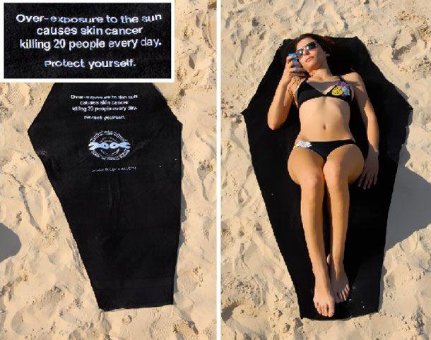 skin cancer towel - Google zoeken