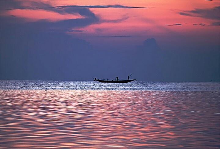 Chilika Lake,Orissa,India