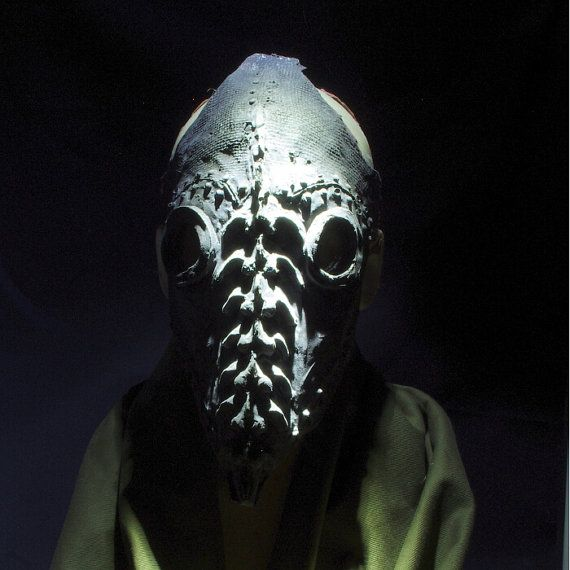 Plague Doctor Mask  . . . in Latex by hotworks on Etsy